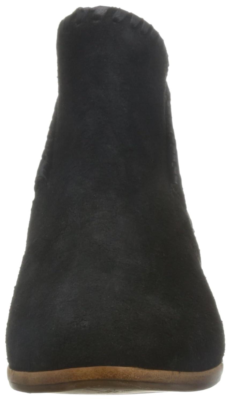 Jack Rogers Women's Sadie Suede Boot B01BCX9MPC 7.5 B(M) US|Black