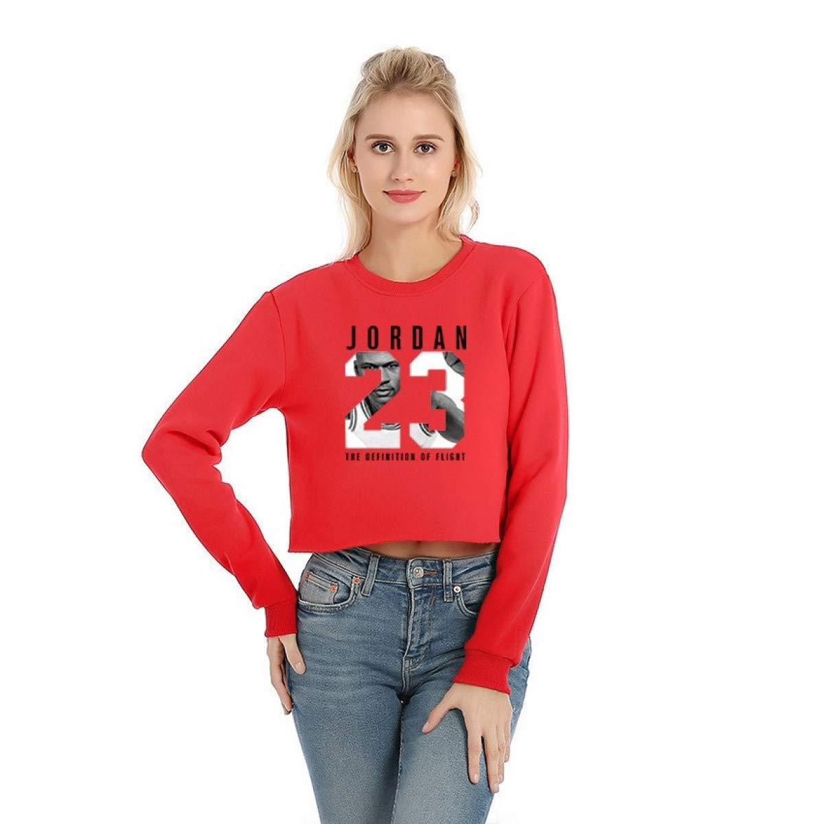 Womens Long Sleeve Womens Hoodies High Street Casual Crop top Women Sweatshirt at Amazon Womens Clothing store: