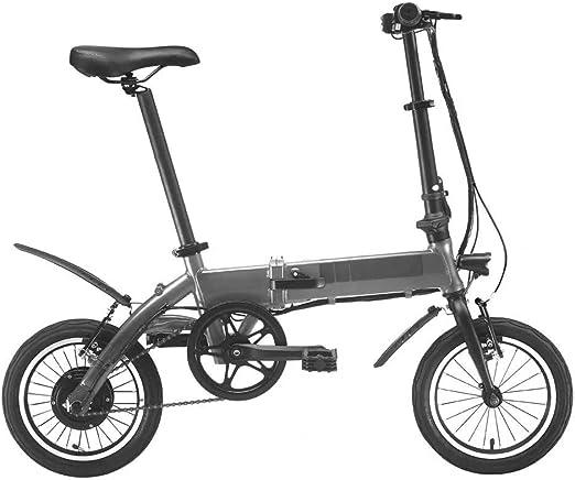 YAzNdom Bicicleta Eléctrica Pantalla LCD 250W Bicicleta Eléctrica ...