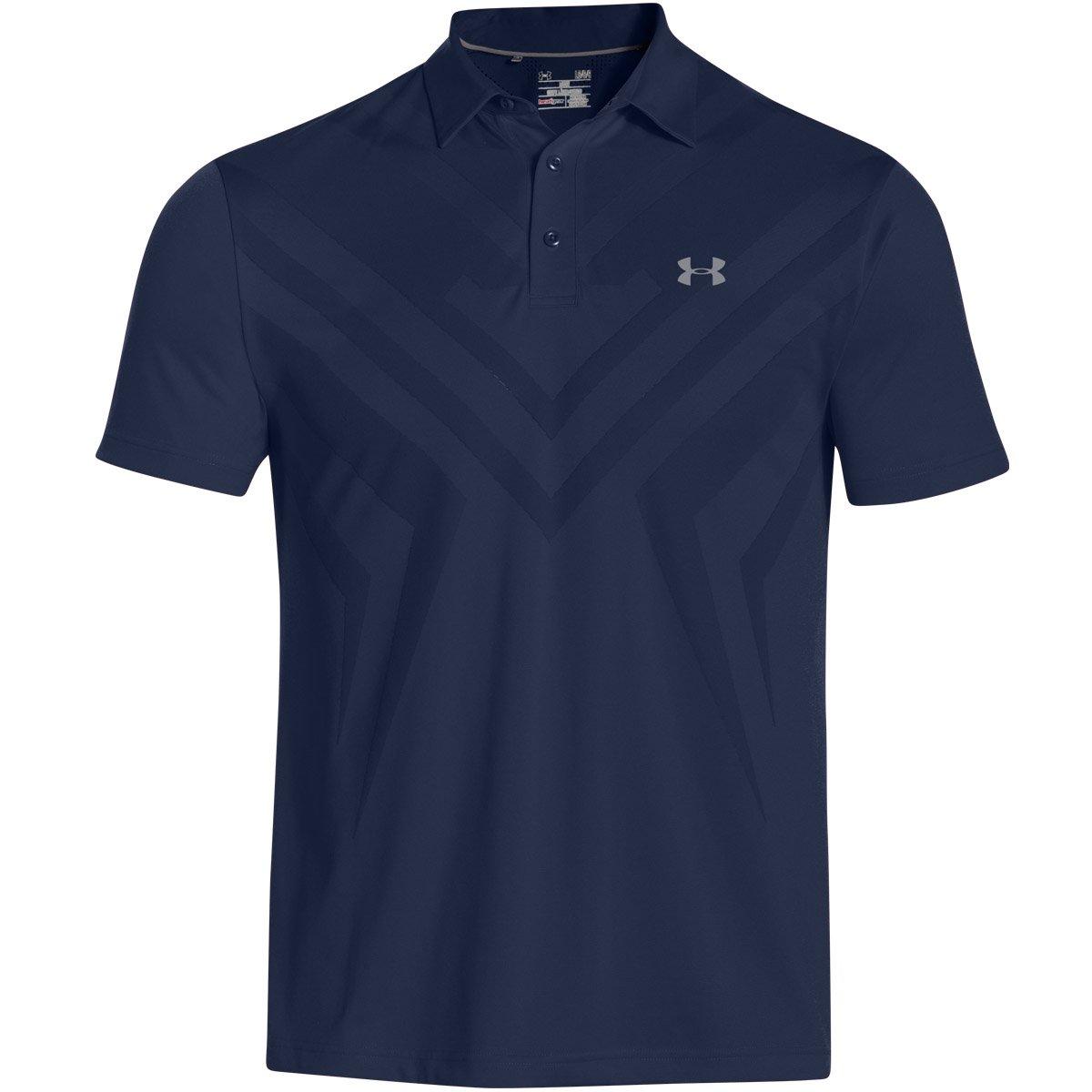 Under Armour Herren Armour-Spitze Polo Shirt mit Moisture Transport System und Anti-Odor Technologie