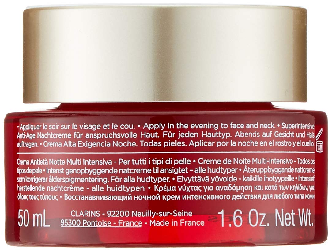Clarins Super Restorative Night Cream for Unisex, 1.6 Ounce by Clarins (Image #7)