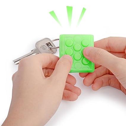 KingNew - Llavero antiestrés con diseño de burbujas, juguete ...