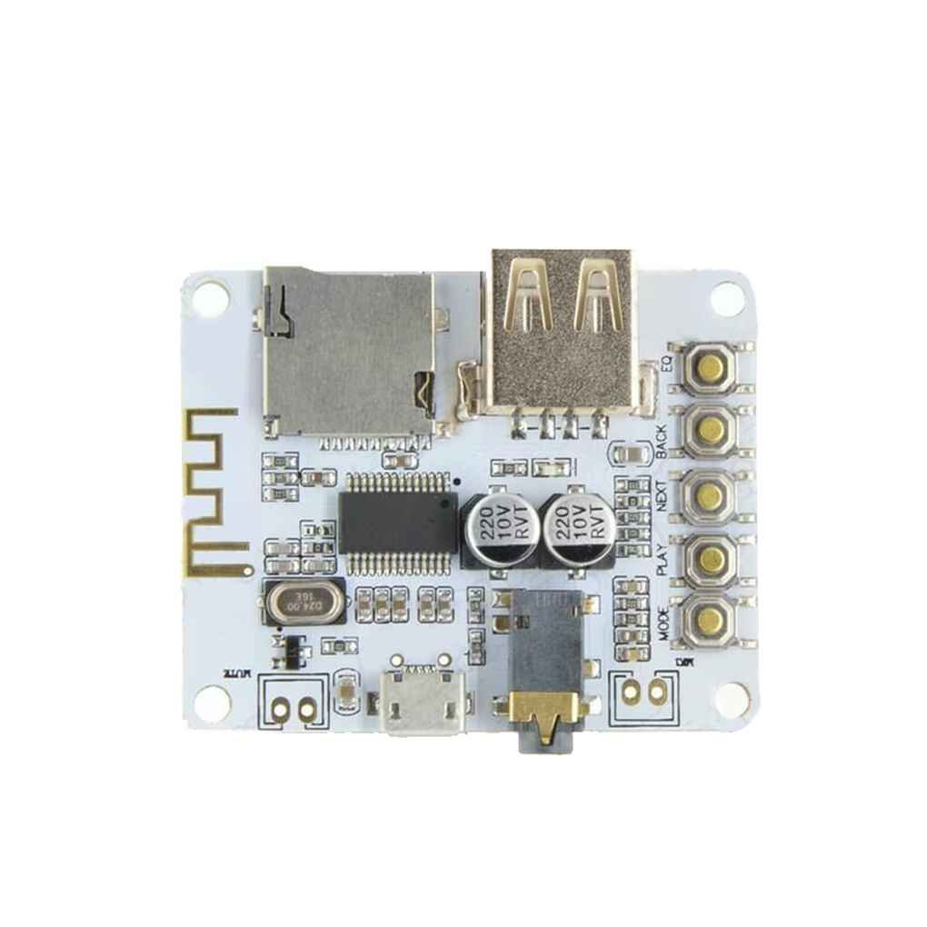 M-Egal DIY Bluetooth 3.0/4.0/4.1 Audio Receiver Board Wireless Stereo Sound Module 5V