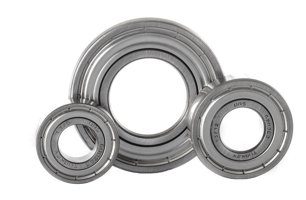ORS 6201 ZZ C3 Deep Groove Ball Bearing, Single Row, Double Shielded, Steel Cage, C3 Clearance, ABEC 1 Precision, 12mm Bore, 32mm OD, 10mm Width ORS Bearings Inc. 6201ZZ C3 G93