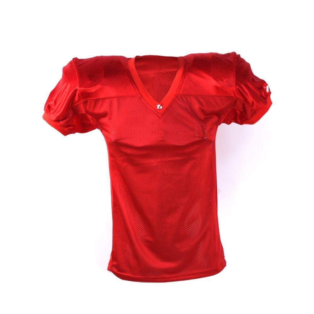 FJ-2 football jersey match, scarlet barnett