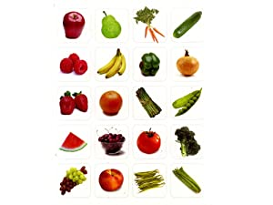 240 FRUITS & Vegetables Stickers - VEGGIES Nutrition HEALTH - Teacher Motivational Rewards EDUCATION Classroom Party Favors by Just4fun