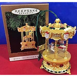 Hallmark Keepsake Ornament Tobin Fraley Holiday Carousel Ornament