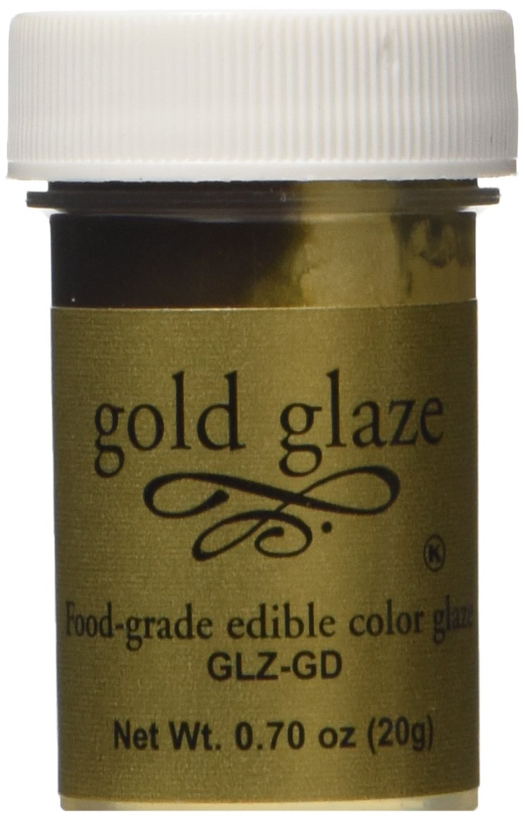 Amazon.com : Food Grade Edible Color Cake & Fondant Glaze-gold ...