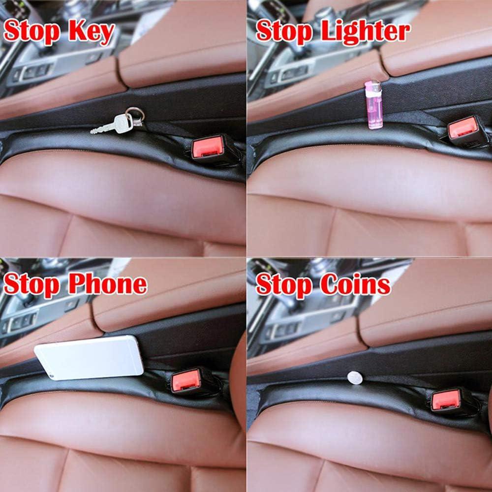 BNHHB 2 StckAutositz Slot Plug Pad f/ür Mercedes-Benz AMG DASS Gegenst/ände Fallen Gap Filler Pad Spacer Auslaufsicherer Schutz PU Leder Pad Verhindern Sie Styling Dekoration Zubeh/ör