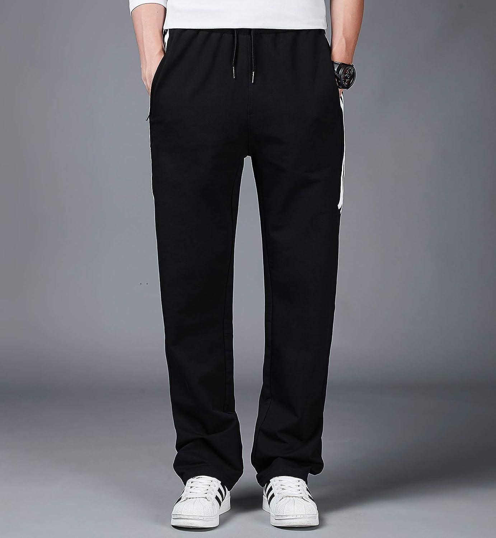 Lachi Homme Pantalons de Sport Casual Jogging Surv/êtement Homme Coton Automne Hiver