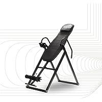 SportPlus, zwart, inversiebank, opvouwbare, inversietafel met 6 inversiehoeken, strekbank om de wervelkolom te ontlasten…
