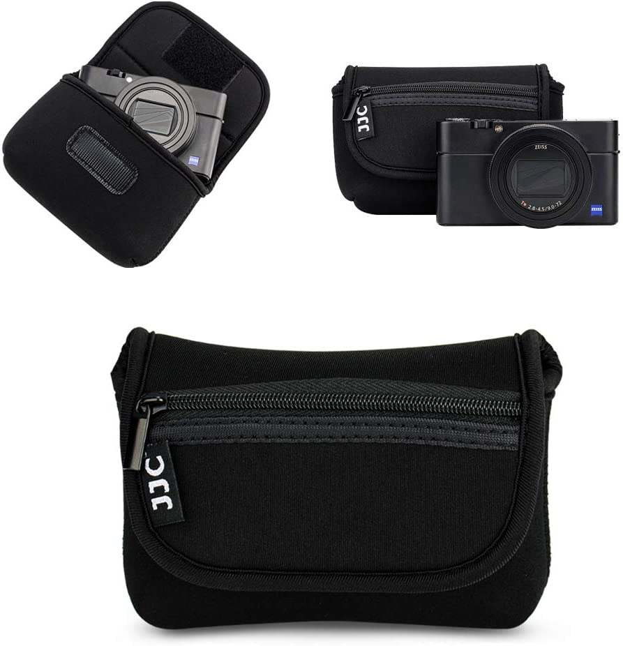 FE 28-70mm f3.5-5.6//FE 24-70mm f4//FE 16-35mm f4,Nikon Z7 Z6 Z 24-70mm f4 and More SLR Below 5.6 x 3.9 x 6.1 JJC Neoprene Camera Case Pouch Cover for Sony A7 III A7R III A7R II A7S II A7S A7 II A7