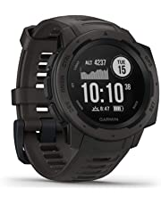 Garmin Instinct Rugged GPS Watch - Graphite