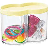 mDesign Caja organizadora de plástico – Tarros