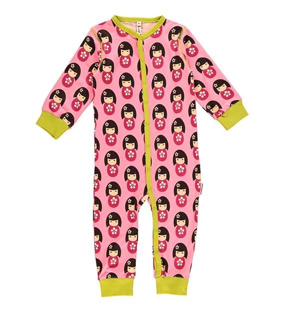 Maxomorra - Pelele - para bebé niña Rosa (Doll) 44 cm: Amazon.es: Ropa y accesorios