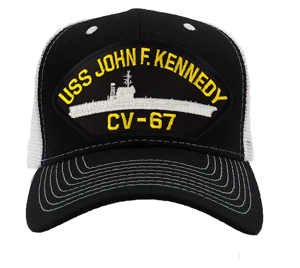 Patchtown USS John F Kennedy CV-67 Hat//Ballcap Adjustable One Size Fits Most