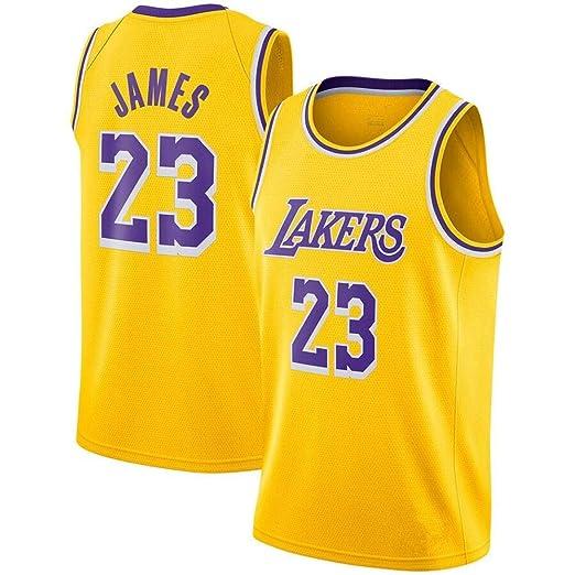 CYY NBA Jersey - Balón de Baloncesto (Temporada 23, 23 James ...