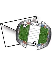 Creative Football Theme Invitations - Set of 8
