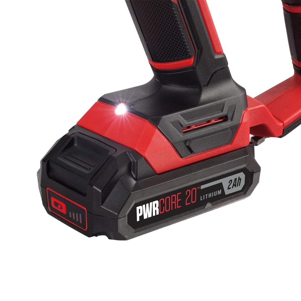 SKIL 20V SDS-plus Rotary Hammer, Includes 2.0Ah Pwrcore 20 Lithium Battery & Charger - RH170202 by Skil (Image #6)