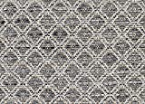 SQUARE 3'X3' Marina Cay Gunmetal Custom Cut Economy Indoor Outdoor Carpet Patio Area Rugs