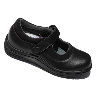 InStride Nellie II Womens Comfort Therapeutic Extra Depth Casual Shoe leather velcro  26ZREC3MO