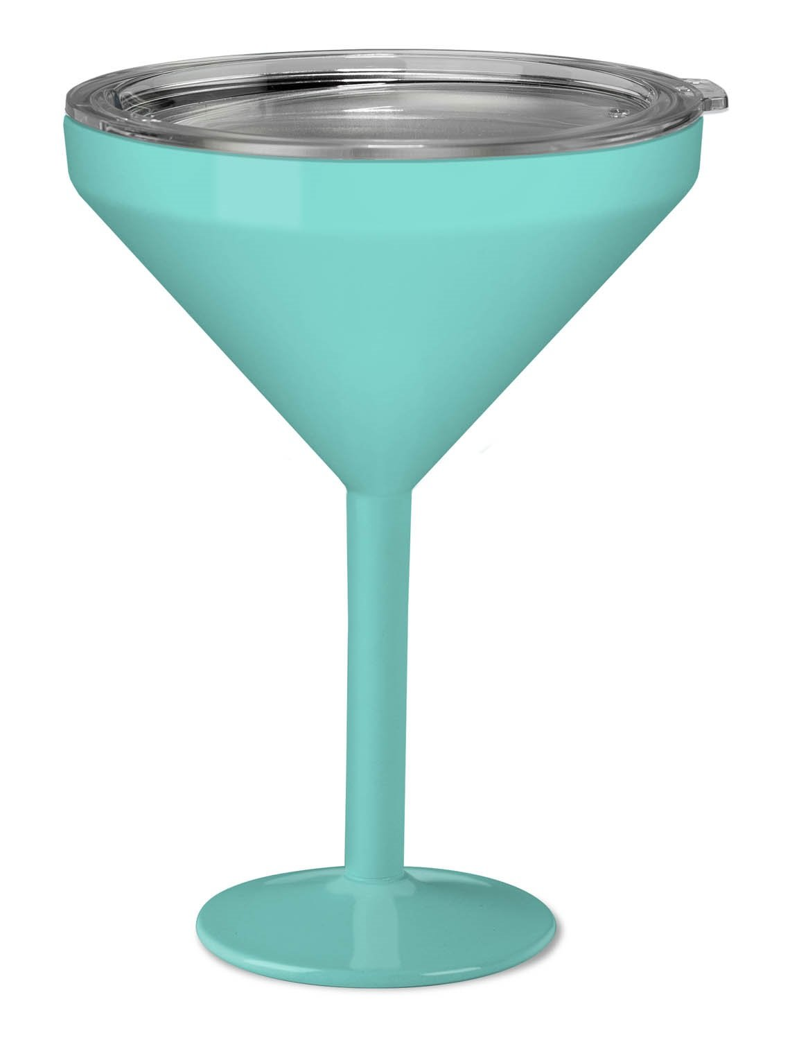 True North Insulated Martini Glass (Beach Seafoam)
