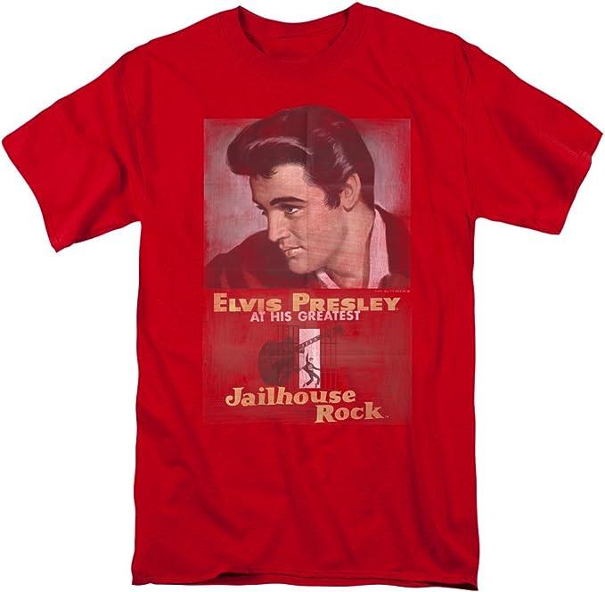 Elvis Presley ON TOUR POSTER Licensed Adult T-Shirt All Sizes