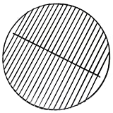 14 Inch 201 Stainless Steel Charcoal Grill Cooking Replacement Grate - For use in 14'' Weber Smokey Joe - Cool Present for Him, Man Gift
