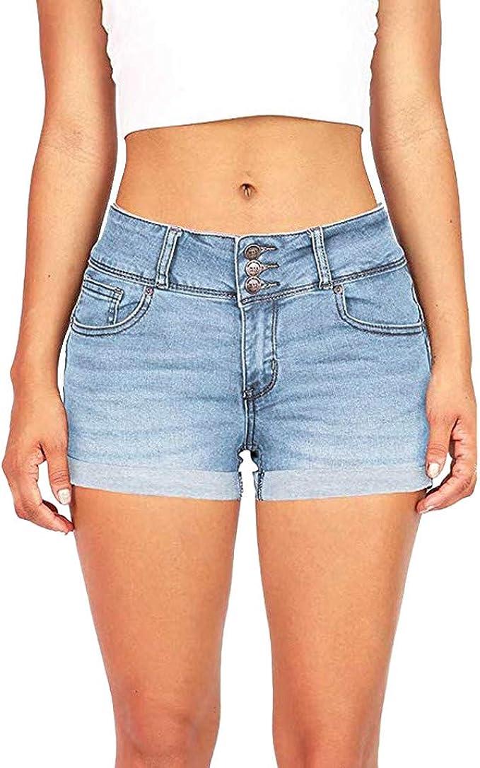 Hot Pants Kurze coole Damenjeans Grösse L