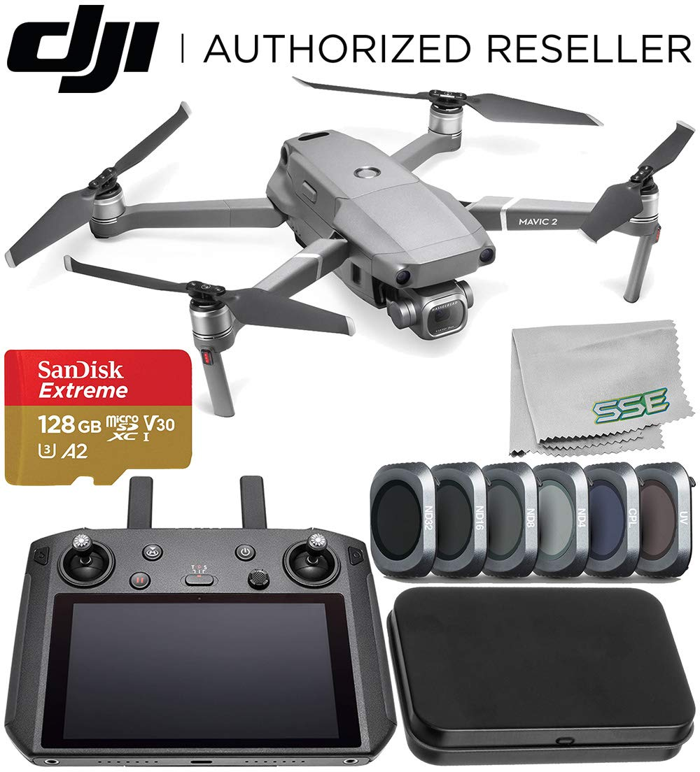 DJI Mavic 2 Pro Foldable Quadcopter with DJI Smart ...