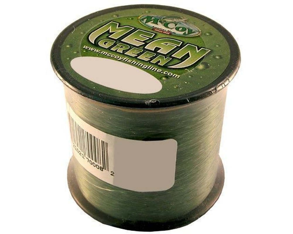McCoy Premium Co-Polymer Abrasion Resistant, Superior Knot and Tensile Strength Monofilament Fluorocarbon Fishing Line