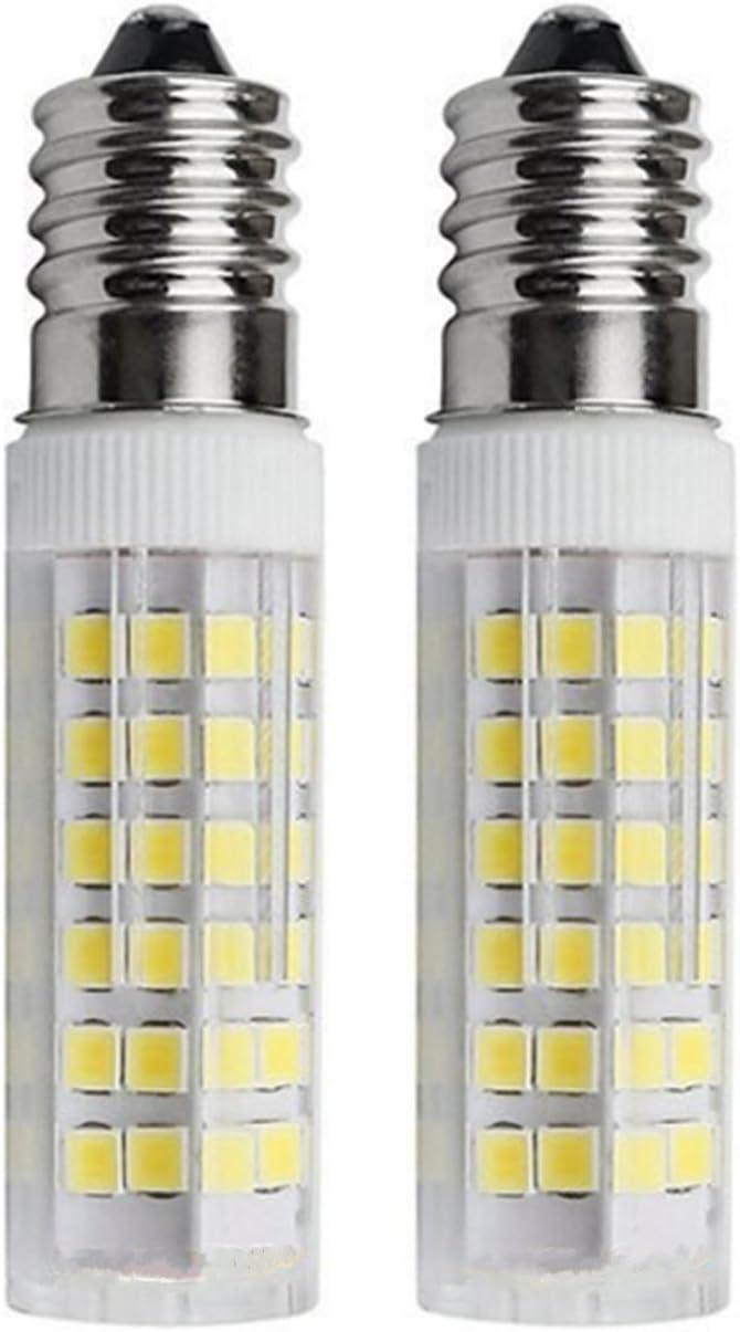 SFTlite [2 unidades] E14 SES Bombilla LED 5W–500lm–Blanco Fresco 6000K 360 ° ángulo–LED Energía Bombillas Rosca Edison Pequeña con Super Brillante Lámparas [Equivalente a 45 W Bombilla Halógena]