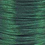 Rattail 2mm Rattail Satin Cord - Hunter Green - 5m