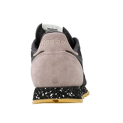 Reebok - CL Leather - AQ9774 - Color: Grafito-Marrón-Negro - Size: 45.5 2NgRA5