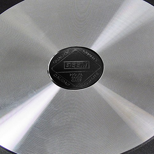 BEEM 17 Piece Cast Aluminum Non Stick Cookware Set with Cooking Utensils - Non-stick - 17-Piece - Black