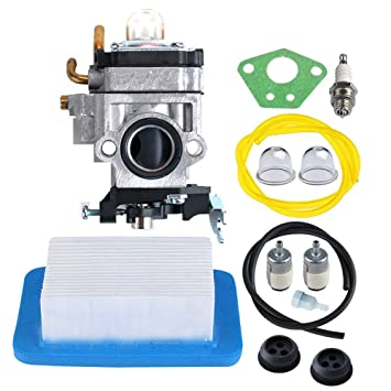 HIPA carburador con filtro de aire manguera de gasolina Kit ...