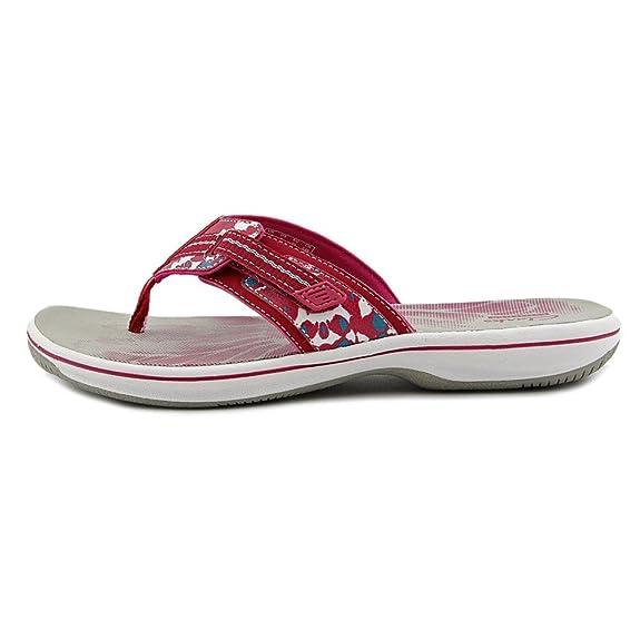3d7da7e1b097f0 CLARKS Womens Brinkley Jazz Flip Flop Casual Sandal