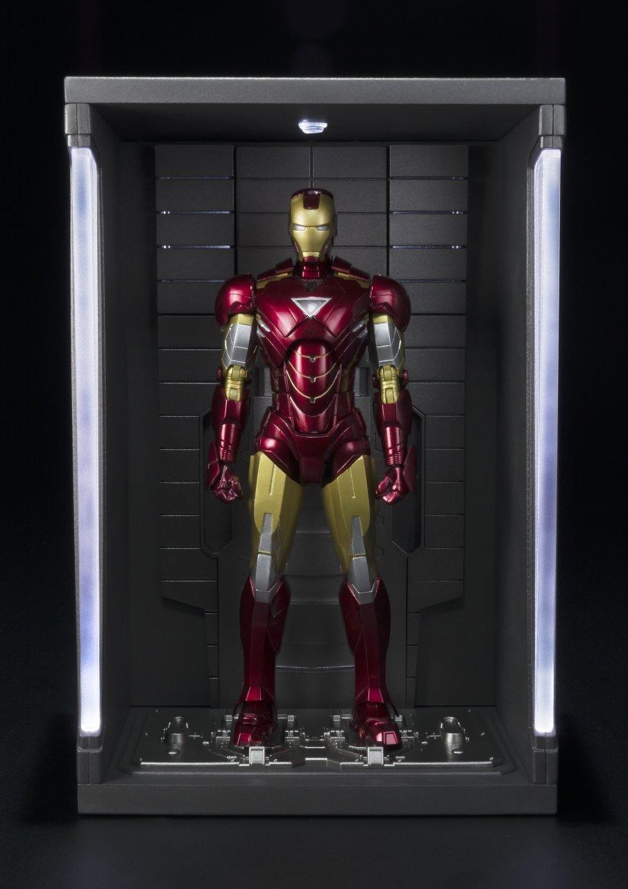 Bandai Tamashii Nations ''Iron Man 2'' S.H. Figuarts MK. VI & Hall of Armor Set by Tamashii Nations (Image #9)