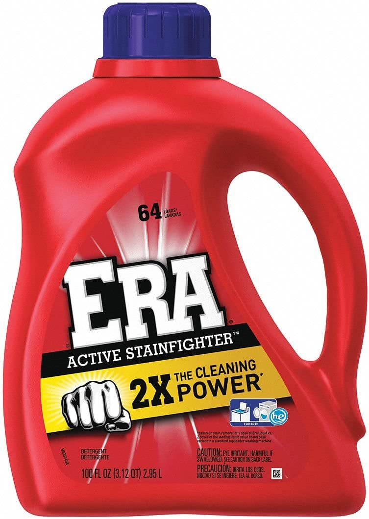 ERA 100 oz. Bottle Original Scent Liquid Laundry Detergent, 4/Carton