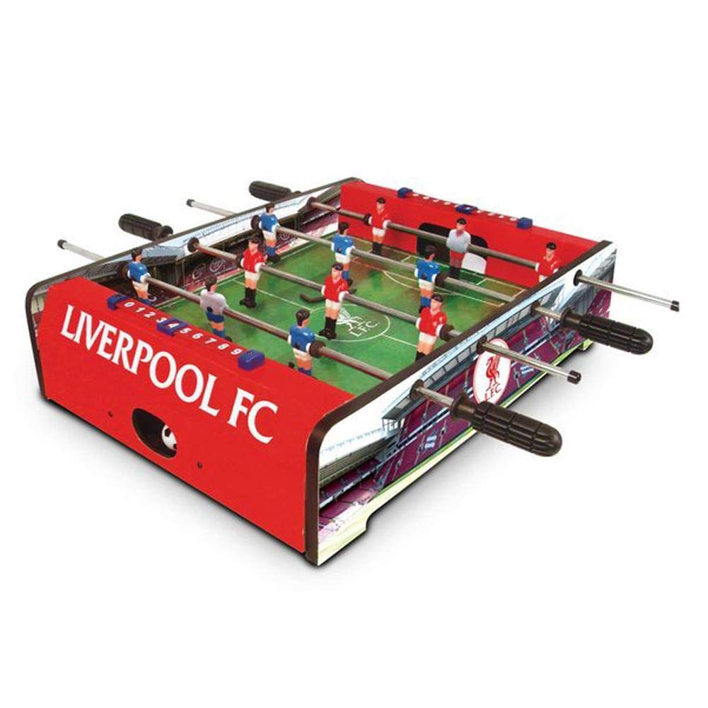Liverpool FC Football Table - Red, 20 Inch by Liverpool F.C. by Liverpool F.C.