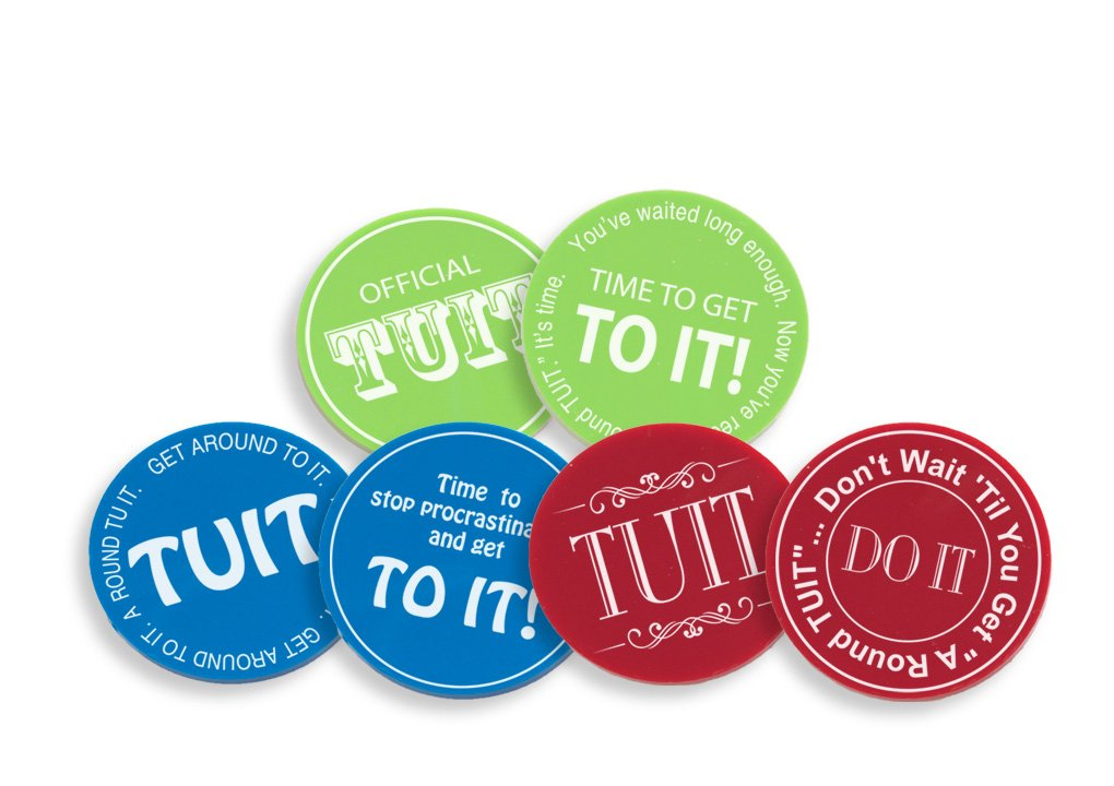 Round TUIT Tokens, Multi-Pack (24/set)