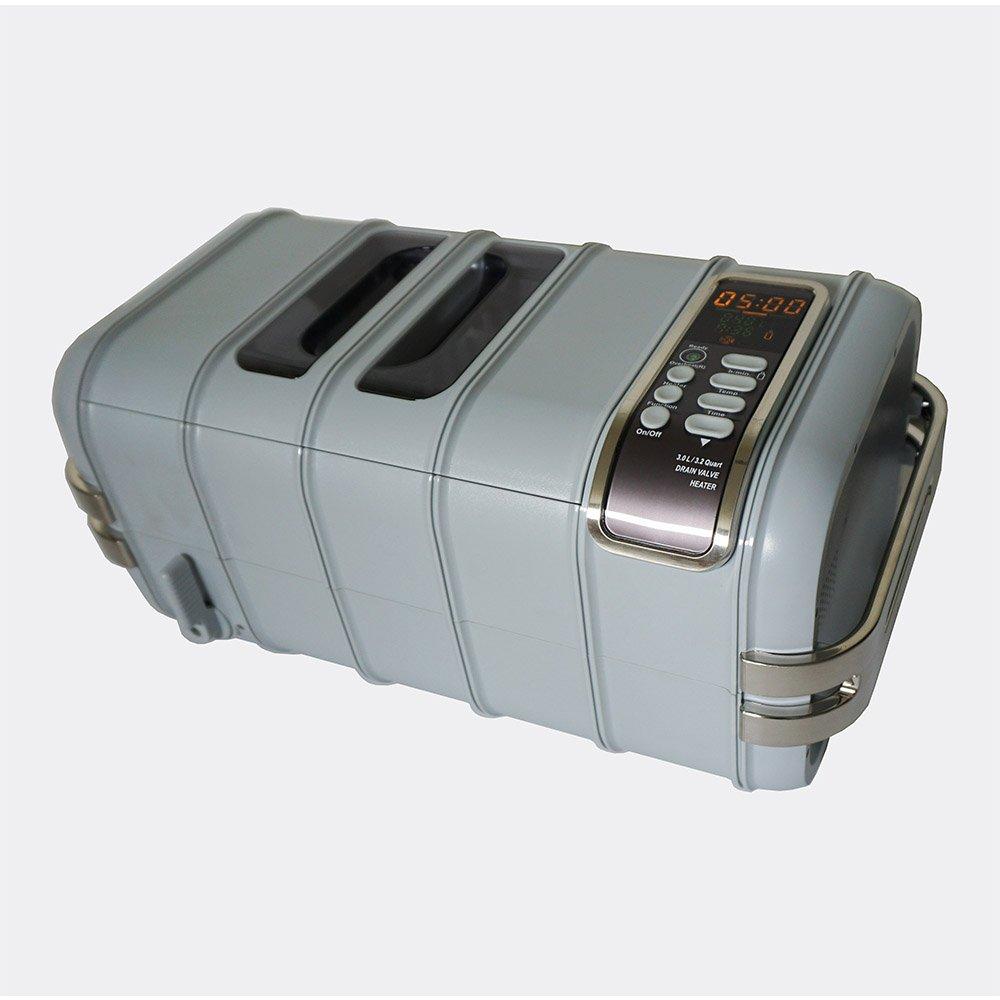 iSonic CD-4831 Commercial Ultrasonic Cleaner, Plastic Basket, 110V, 3.2 quart/3 L, Light Gray by iSonic