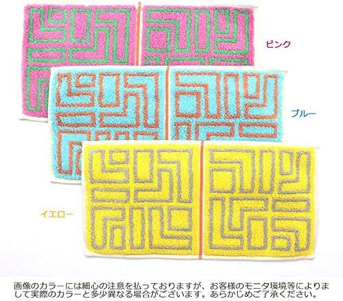 田中産業 今治タオル イエロー 約25×12.5cm ハーフタオル ハンカチ オッタ 16-17 OT16-0060-0917