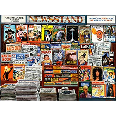 Great Magazine Covers by Ken Keeley 1000 Piece Puzzle: Toys & Games