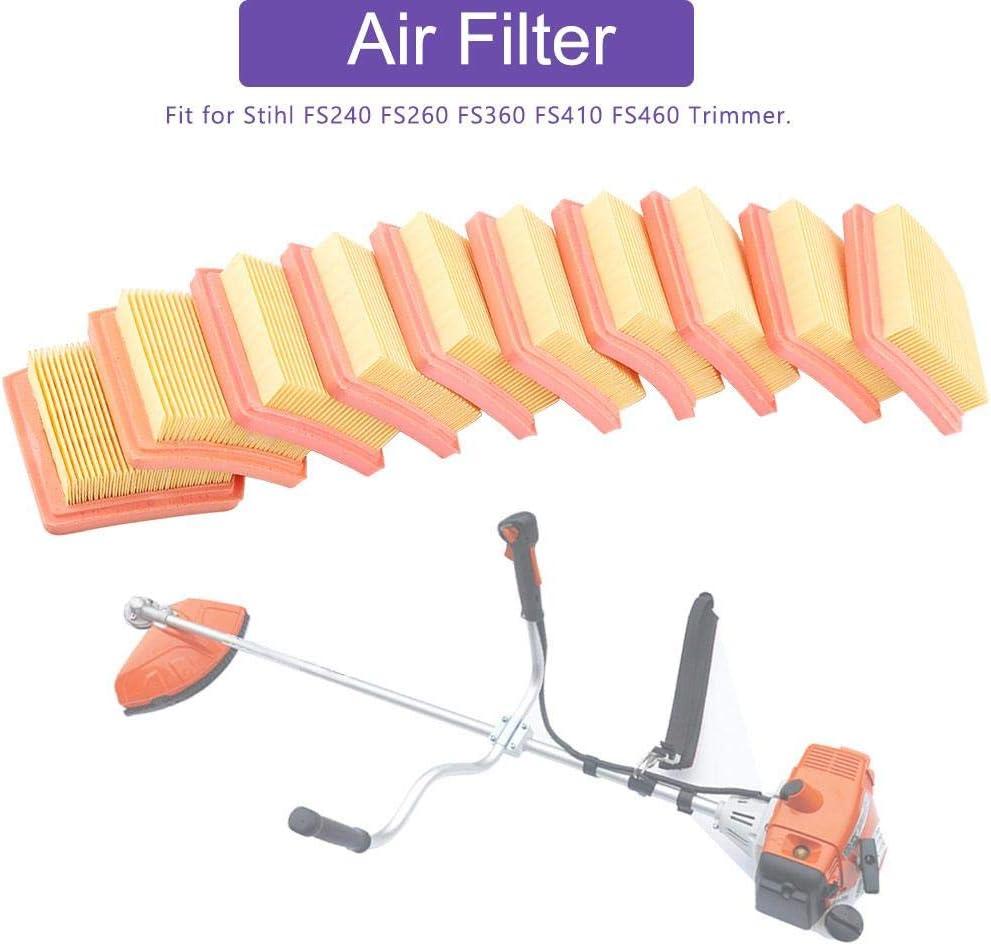 10x Filtre à Air Cleaner Fit pour Stihl FS410 FS460 FS240 FS260 FS360 Tondeuse