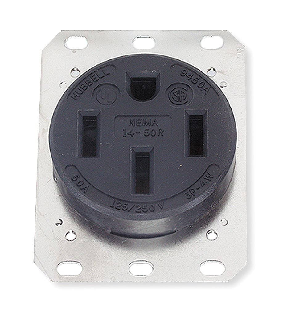 Hubbell Hbl9450a Receptacle Electrical Outlets Nema 14 50 Wiring Diagram