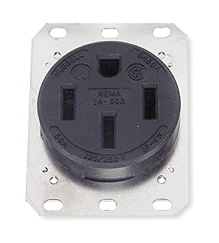 hubbell hbl9450a receptacle electrical outlets amazon com rh amazon com