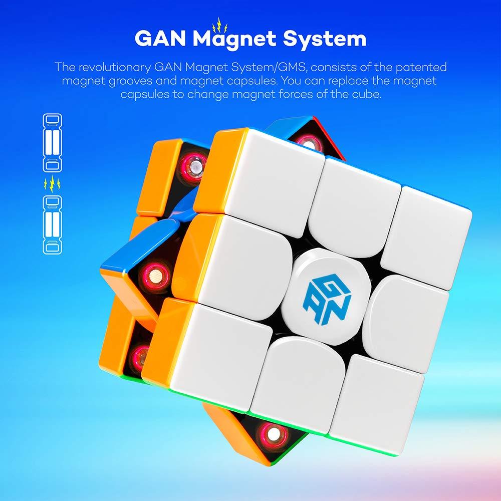 Numerical IPG Version D-FantiX Gan 356 X 3x3 Speed Cube Stickerless Gan 356X 3x3x3 Puzzle Cube