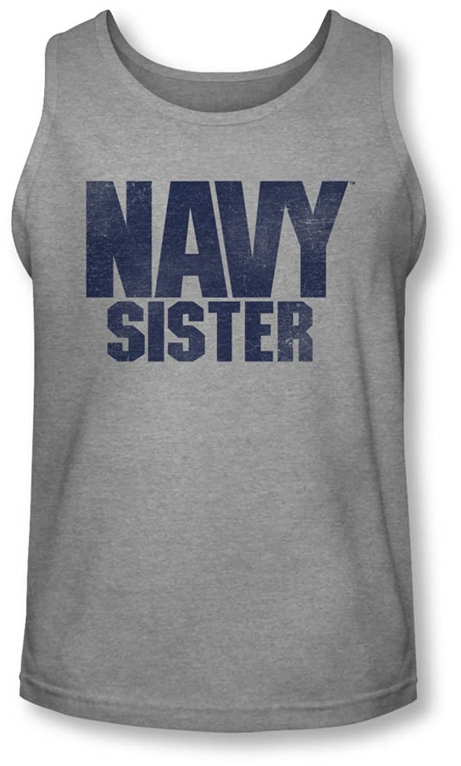 Navy - Mens Sister Tank-Top