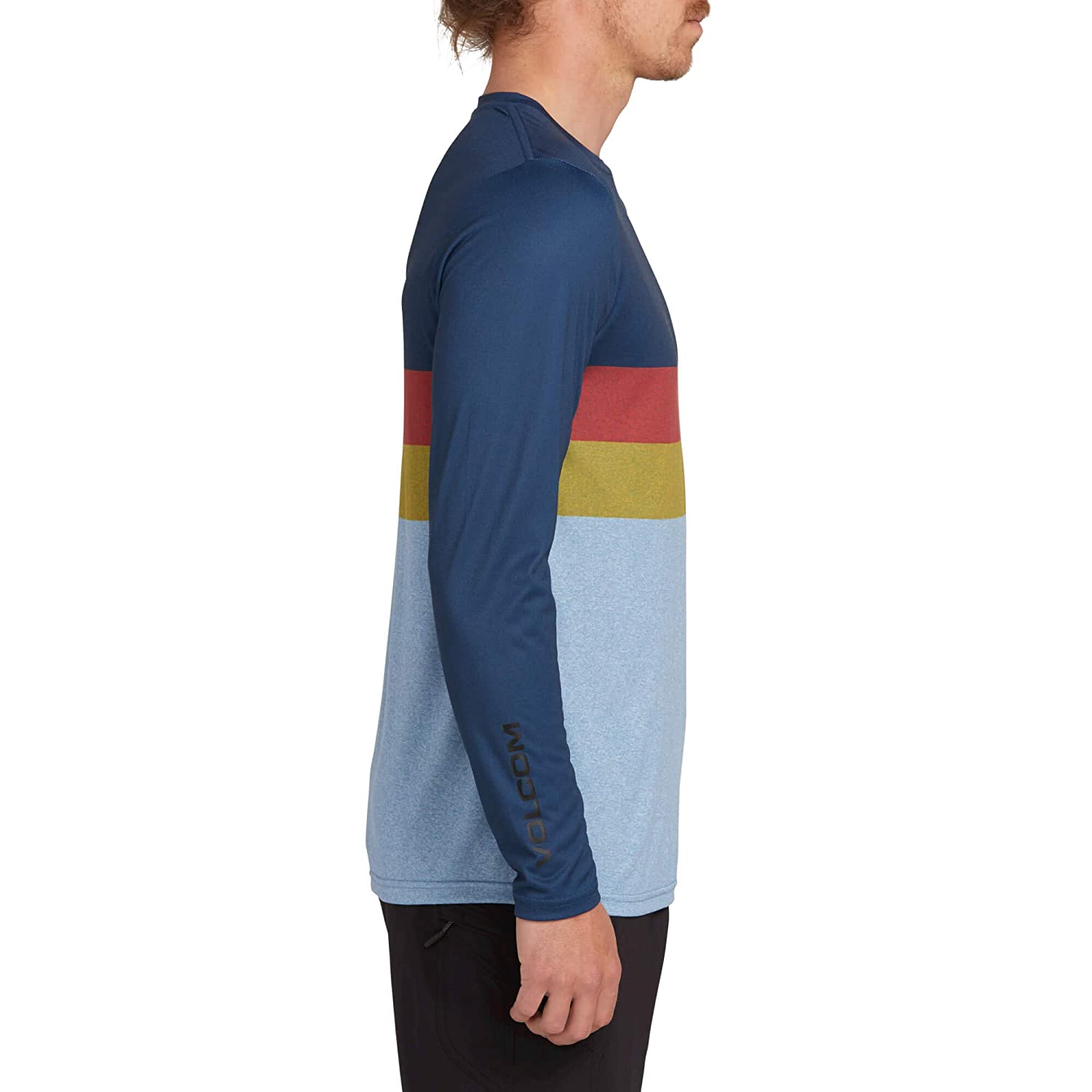 Volcom Mens Lido Block Long Sleeve Rashguard